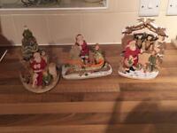 David winter Santa collection