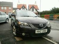 Mazda 3 Sport saloon 2.0 petrol good condition 83k miles MOT'D until december