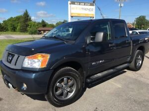 2013 Nissan Titan PRO-4X Pro-4x ! Nice truck in Slate Blue !...