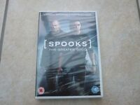 Spooks DVD - brand new and in packaging