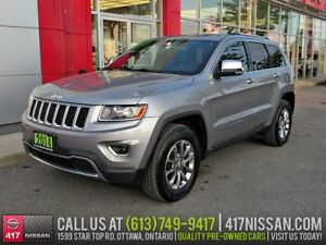 2014 Jeep Grand Cherokee Limited | Leather, Sunroof, Alloys