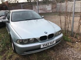 2001 BMW 5 Series 520 Petrol, Fully Loaded Spec With Alloys, Leather Seats Only £795