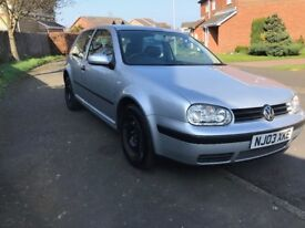 VW Golf Mk4 1.4 16v 3 Door, Silver, Leather Interior, heated seats