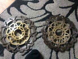Brake discs (near new)
