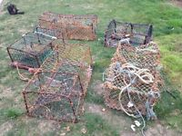 lobster fishing nets only £70.00
