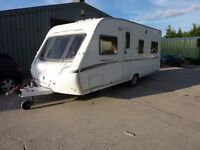 Abbey 418 GTS Fixed Bed Touring Caravan & Free Starter Pack