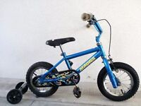 """(2253) 12"""" MAGNA Boys Girls Kids Childs Bike Bicycle + STABILISERS; Age: 3-5; Height: 92-107 cm"""