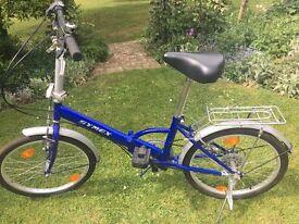 Symex 6-speed folding bike, virtually unused