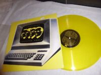 "KRAFTWERK RARE YELLOW VINYL LP-"" COMPUTER WORLD""-EMC 3370"