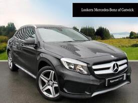 Mercedes-Benz GLA Class GLA 200 D AMG LINE (black) 2016-09-01