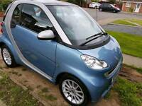 Blue/Silver 2011 Smart Car. Semi Automatic. FSH and 12 months MOT.