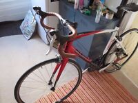 Giant DEFY 3.5 Road Bike - Red/White/Black 2010 with 105 brakes £230 ono