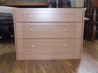CHEST OF DRAWERS EXCELLENT CONDITION FREE EDINBURGH DELIVERY