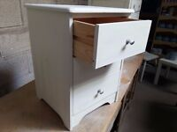 Shabby chic bedsite cabinet