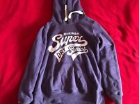 Superdry purple women hoodie