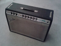 Fender Deluxe Reverb Guitar Amp Original 70s Silverface OFFERS WELCOME!