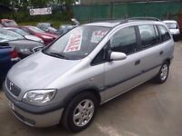 Vauxhall ZAFIRA Elegence,7 seat MPV,2 previous owners,great family car,runs and drives well,YC03FJF