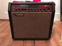 Yamaha DG80-112 guitar amp with Award winning tone and multiple effects in an 80-Watt 1x12 combo)