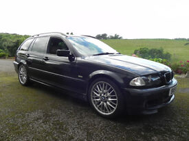 BMW 330D Msport Touring manual