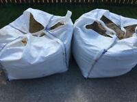 Building materials 30 for both sacks