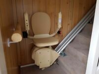 Straight stair lift only uses for six months