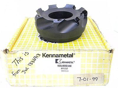 Rebuilt Kennametal Carbide Indexable High Shear Face Mill Kssl492se4456