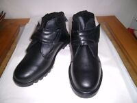 Chums mens leather thermal lined boots size 11 new