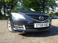 08 MAZDA 6 TS 1.8,MOT AUG 018,2 KEYS,PART SERVICE HISTORY,2 OWNERS FROM NEW,STUNNING EXAMPLE