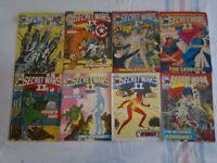 Rare Marvel Secret Wars Comics from original 1986 run (x8 Marvel Comics)