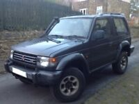 MITSUBISHI SHOGUN 3.0 V6 SWB 3 DOORS 4X4 MANUAL LPG BLACK