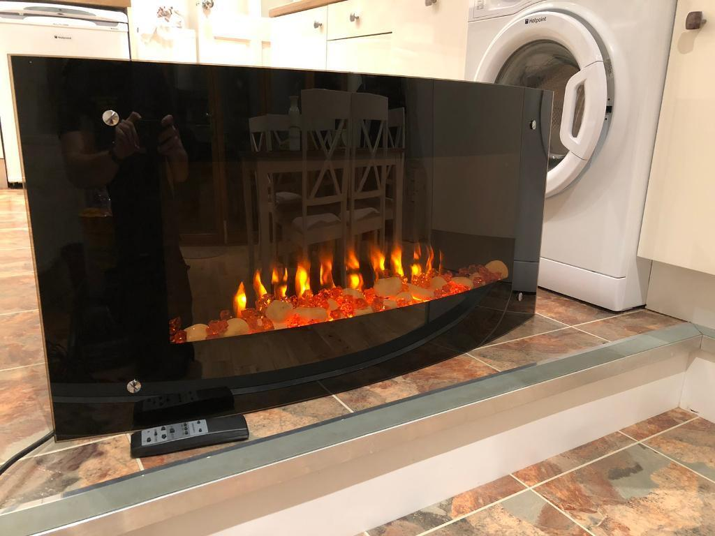 Electric Fire And Heater