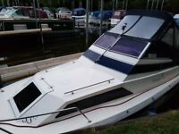 PICTON 21 MOTOR BOAT with 2 berths, outboard engine with or without mooring