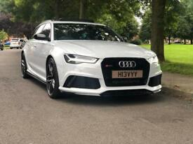 Audi RS6 Suzuki Grey 65 Facelift Big Spec Clear Wrap