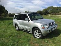 2002 mitsubishi shogun 3.2 did equippe 7 seater top of the range ideal export £1675