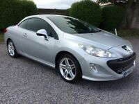 Peugeot 308 CC 1.6 VTi Coupe SE Convertible One Owner FSH by Peugeot 77K MILES Stunning PX Welcome