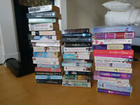 40 assorted books for £10 in total