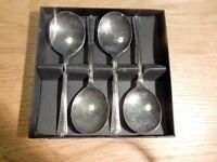 Vintage desert spoons
