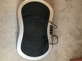 Pro Step Mini power plate exercise machine. Used a handful of times. Perfect condition.