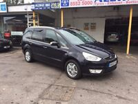 Ford Galaxy 2.0 TDCi Ghia 5dr.. 1 OWNER.FULL SERVICE HISTORY.CAMBELT DONE.PARKING SENSORS.2 KEYS.MOT