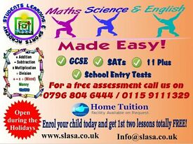 Excellent Tutoring in Maths, Science & English, SATs, GCSE, Entry Test Nottingham high school, Holly