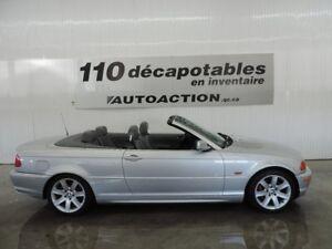 2001 BMW 3 Series 325Ci DÉCAPOTABLE - CUIR