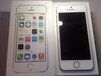 Apple - iPhone 5s - Silver - o2 - 16GB - Smartphone - Box And Charger - Like New