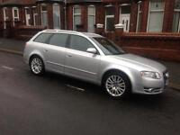 2007 07reg Audi A4 2.0 Tdi Se Silver Avant Full Leather