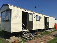 Caravan at Allhallows in Kent on a haven site to rent
