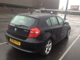 Bmw 118 d black 58 plate car for sale