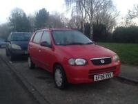 Suzuki Alto 2006 £30 road tax 50mpg