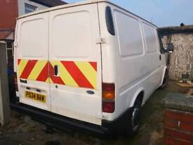 Ford transit mk5 smiley face x police force