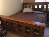 As new condition (super) king size bed (and mattress option)