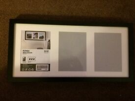 New Black IKEA Ribba Photo Frame 50 x 23cm