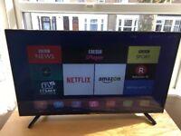 Hisense 40 inch 4k ultra hd smart led tv
